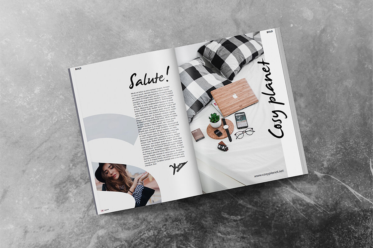 Print magazine found through digital marketin strategy